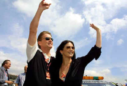 2001 Barcelona - Michael Douglas i Catherine Zeta Jones